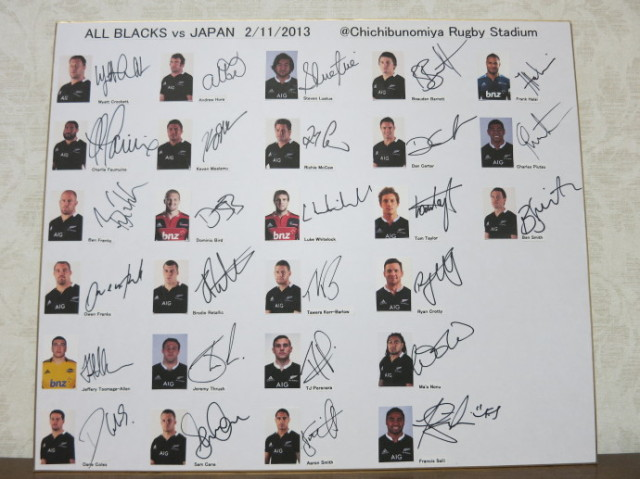 All Blacks 2013