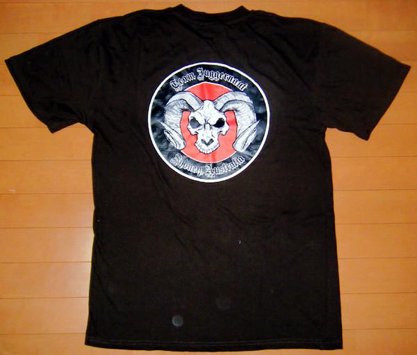 「ドリーム9」でプレゼントされた、マーク・ハントオリジナルTシャツ