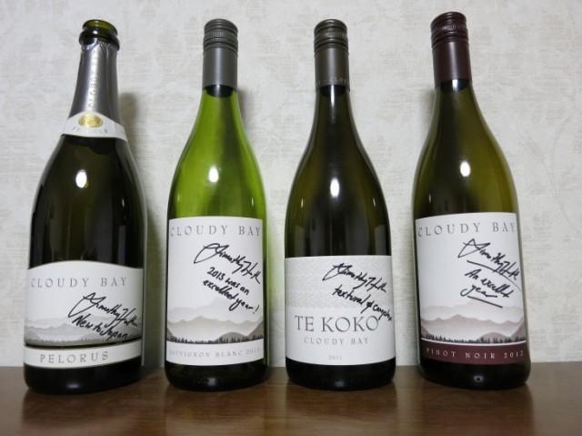 メーカーズディナー時提供ワイン