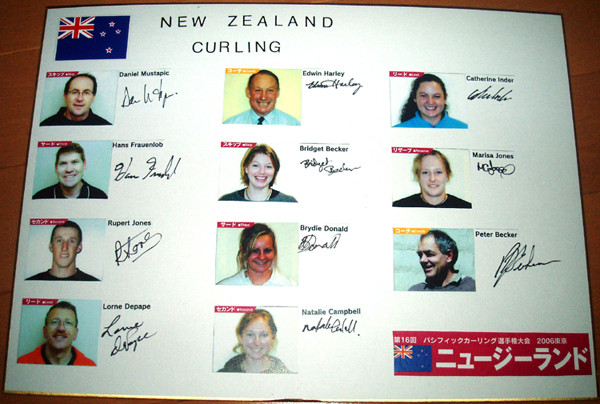 NZカーリング代表
