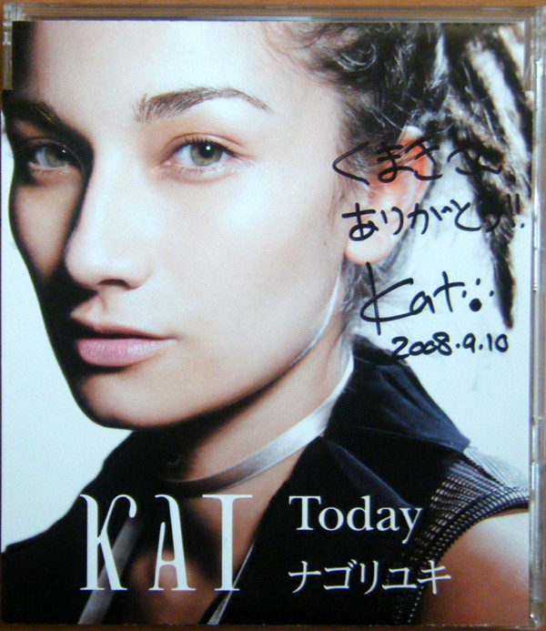 HMV完全限定生産盤「Today / ナゴリユキ」コメント入りCD