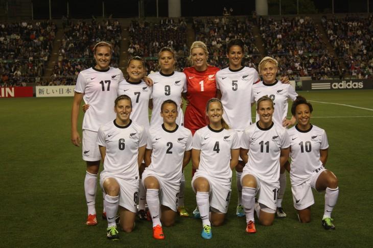 サッカーニュージーランド女子代表 × 200試合目