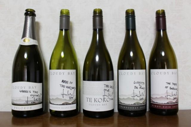 メーカーズディナー時の提供ワイン