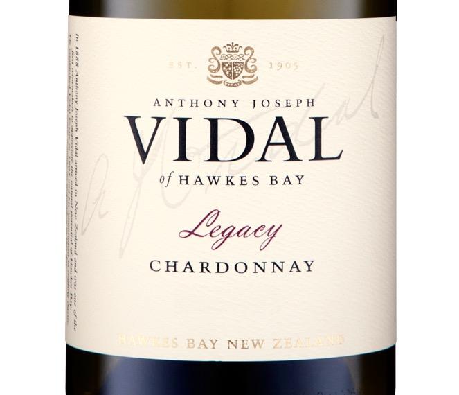 Vidal Legacy Hawke's Bay Chardonnay 2013
