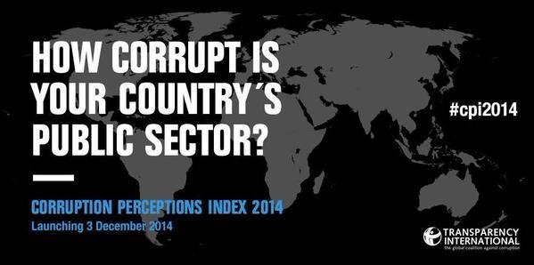 世界腐敗認識指数 2014