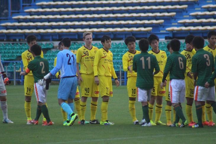 高円宮杯U-18サッカーリーグ2014 柏レイソルU-18 vs青森山田高校