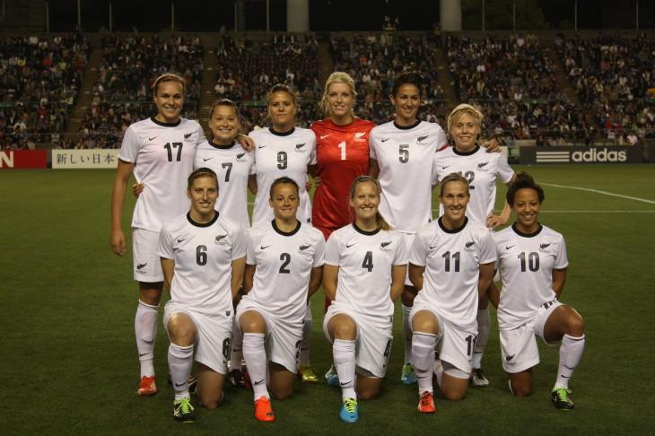 サッカーニュージーランド女子代表 vs 日本女子代表 in香川