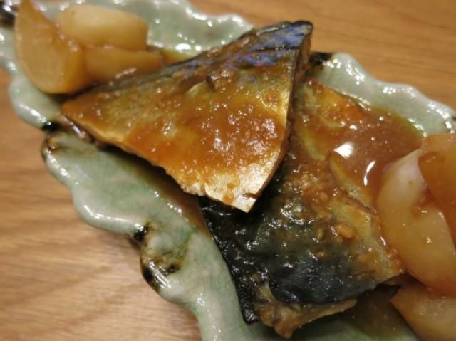 サバのマヌカ味噌煮