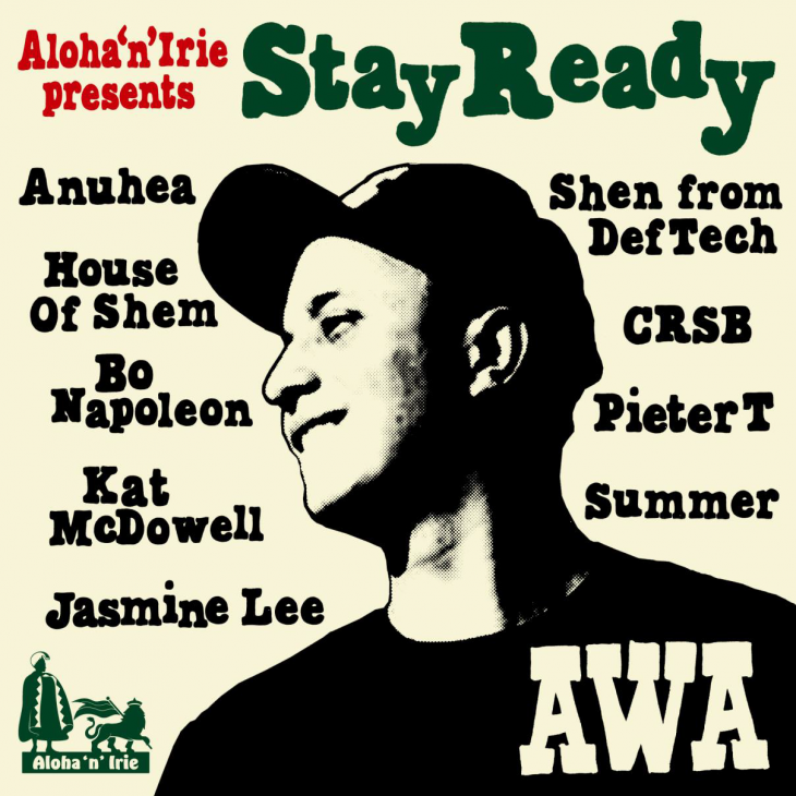 "AWA ( アワ ) 1st Album 「Aloha'n'Irie presents AWA "" Stay Ready ""」"
