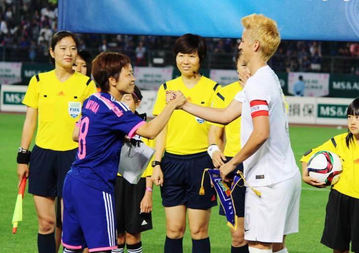 ニュージーランド女子代表 vs なでしこジャパン in 丸亀スタジアム