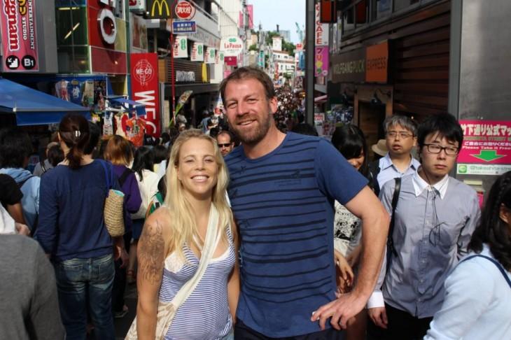 クラウディーベイ ジム・ホワイト× ニュージーランドアーティストFlox 東京散策