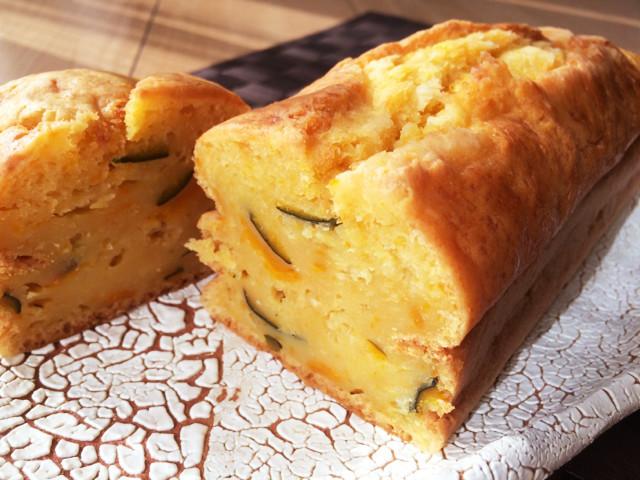 NZ産かぼちゃとマヌカのパウンドケーキ