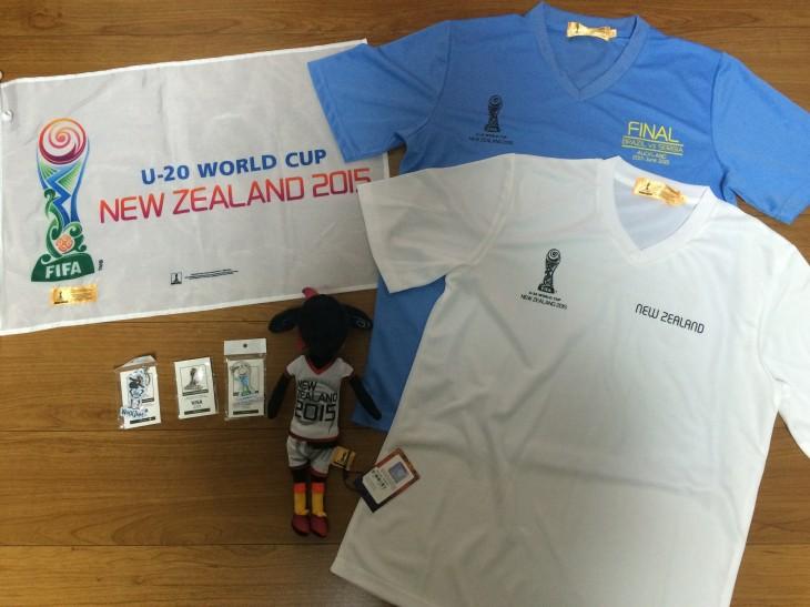 U-20 WORLD CUP ニュージーランド 大会グッズ