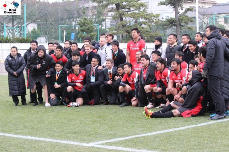 ジャパンラグビー トップリーグ2015-2016 LIXIL CUP 2016  5位決定戦 キヤノン vs トヨタ