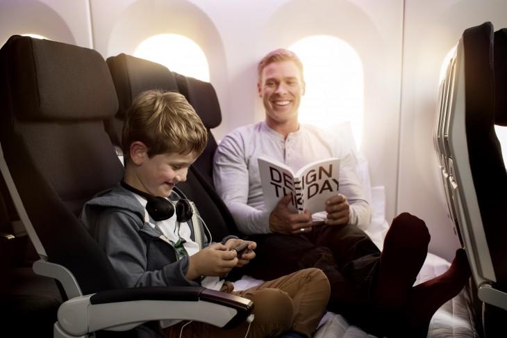 ニュージーランド航空 100円で「スカイカウチ」シートにアップグレード!