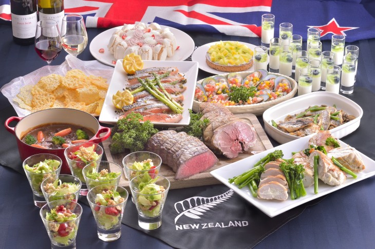 【ホテル日航福岡】 ニュージーランドフェア ~Taste of NEW ZEALAND~開催