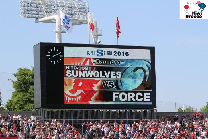 スーパーラグビー第9節 サンウルブズ vs フォース レポート