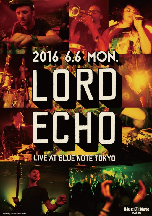 LORD ECHO ライブ at ブルーノート東京