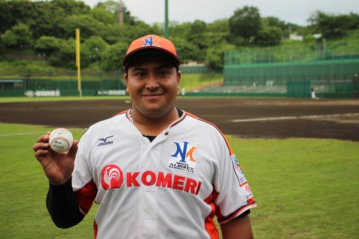 アルビレックス新潟ベースボールクラブ × ニュージーランド代表 ボス