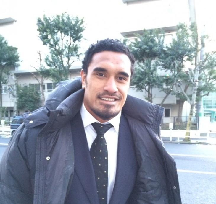 オールブラックス 来日イベントin東京駅