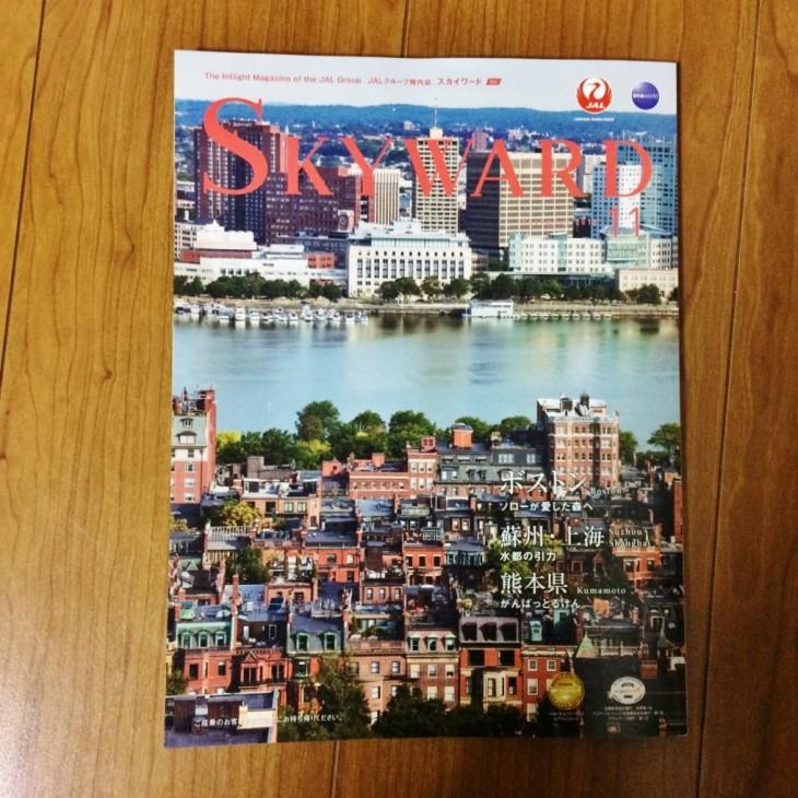 SKYWARD 11月号 Giapo in オークランド