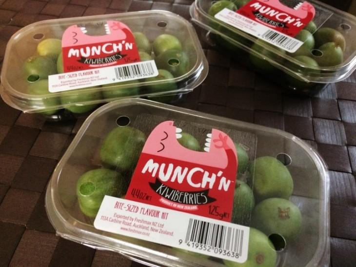 ニュージーランド産キウイベリー「 Munch'n」 のご紹介!