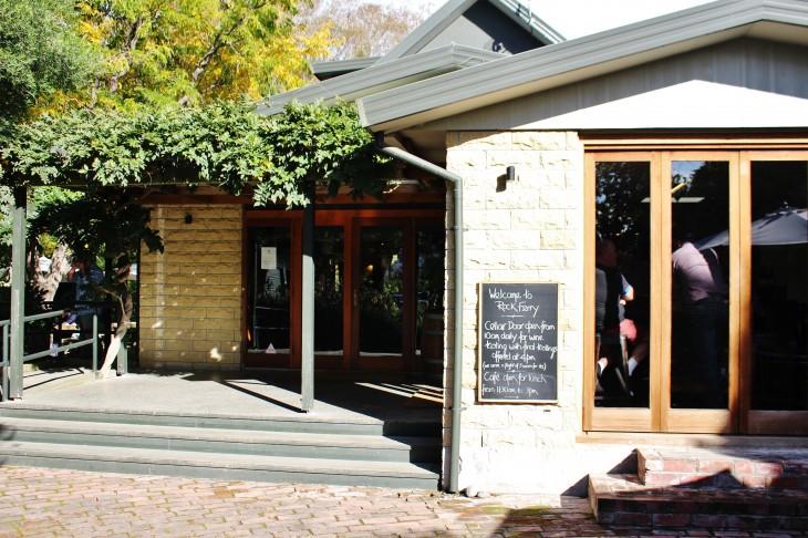 ニュージーランド マールボロでの人気レストラン「ロックフェリーワイン」でランチ