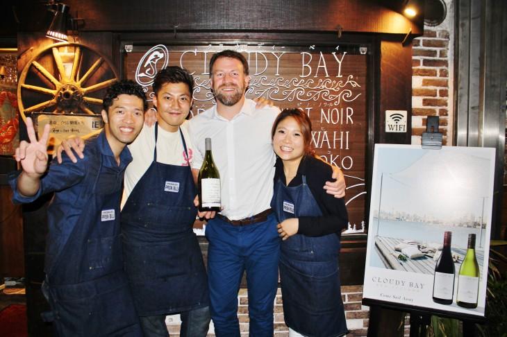 Cloudy Bayワインメーカーズディナー at Ebizo レポート