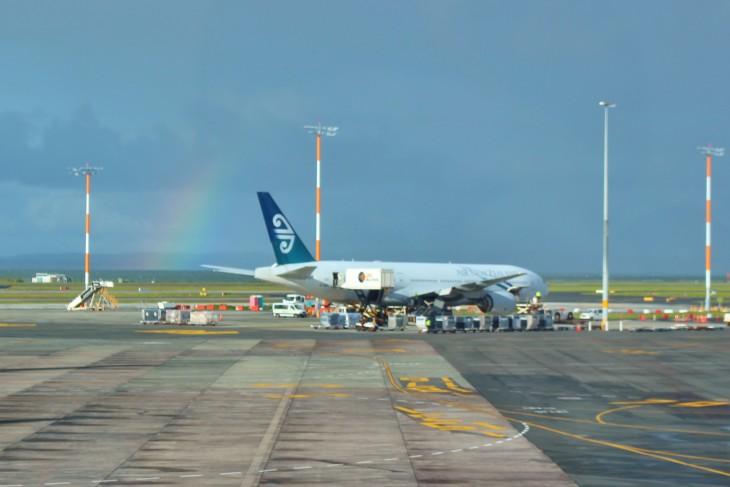 Air New Zealand(ニュージーランド航空) レポート 【朝便】