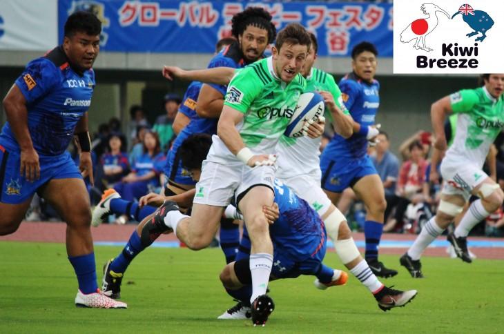 グローバルラグビーフェスタ2017 埼玉・熊谷 パナソニックワイルドナイツ vs ハイランダーズ レポート