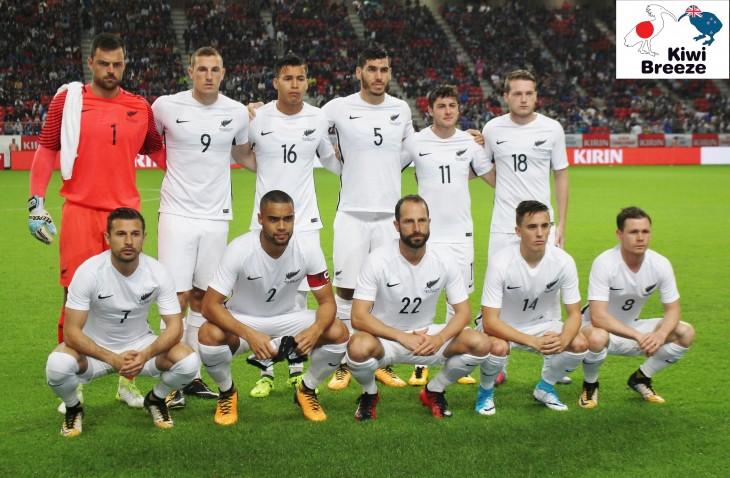キリンチャレンジカップ2017 日本代表 vs ニュージーランド代表 レポート