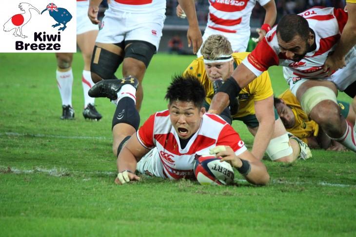 ラグビー 日本代表vsオーストラリア代表 レポート