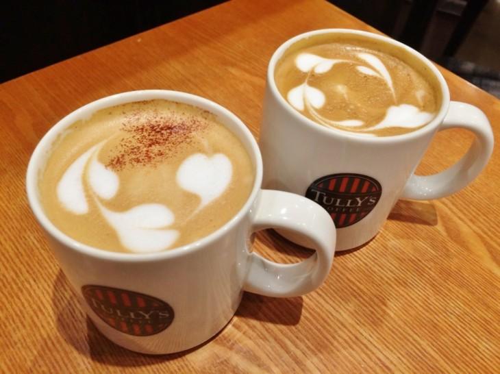 タリーズコーヒ 2種類のフラットホワイト 販売中!
