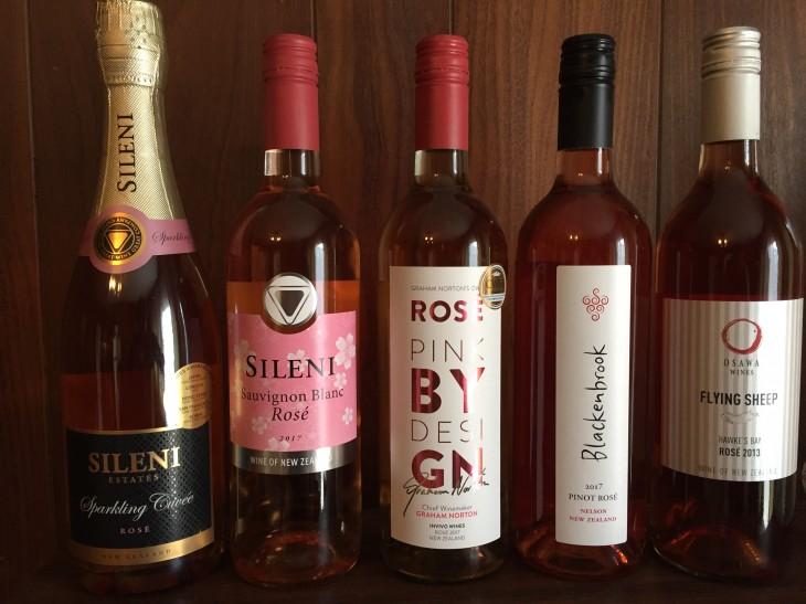 ニュージーランドワイン会「ロゼ」の会