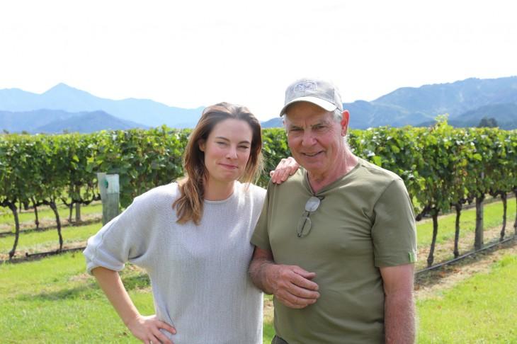 シャンパーニュ地方から移住し、ワイン造りを行う「No.1 Family Estate」