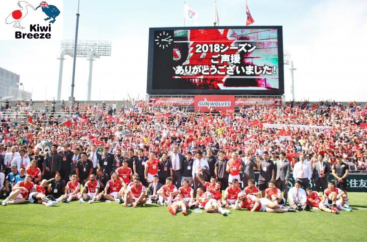 スーパーラグビー2018 サンウルブズvs レッズ レポート