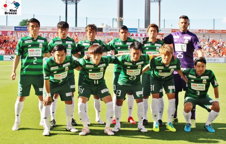 2018年 J2リーグ大宮アルディージャvs FC岐阜 ライアン デ フリース  Jリーグ初フル出場