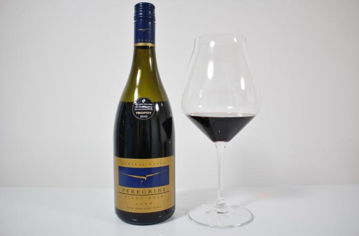 2010年度のエアーニュージーランド・ワインアワード チャンピオンワイン 「ペレグリン ピノ・ノワール2009」
