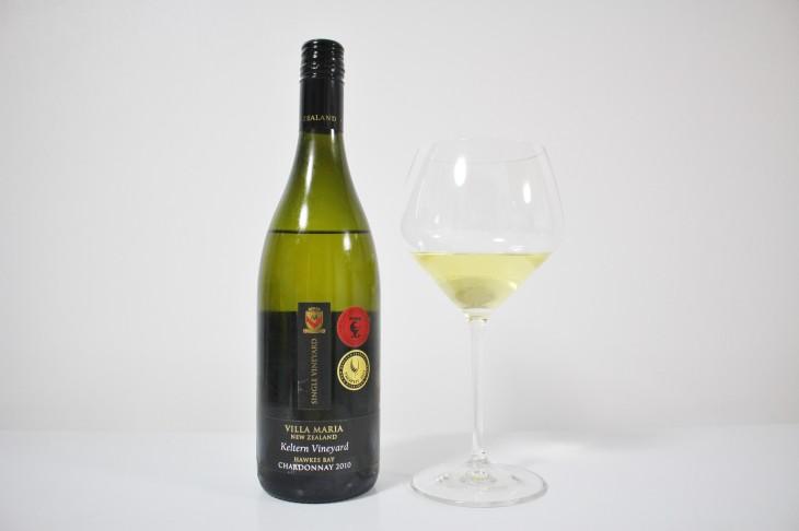 2011年度のエアーニュージーランド・ワインアワード チャンピオンワイン 「ヴィラマリア ケルターン ホークスベイ シャルドネ2010」