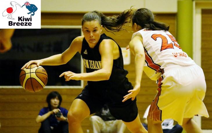 ニュージーランド女子バスケットボール代表vs富士通レッドウェーブ
