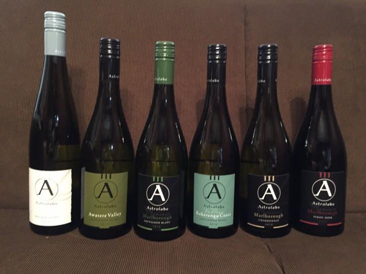 ニュージーランドワイン会 「アストロラーベ」 の会