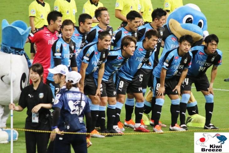 ルヴァンカップ 準々決勝 第2戦 川崎フロンターレ vs 鹿島アントラーズ