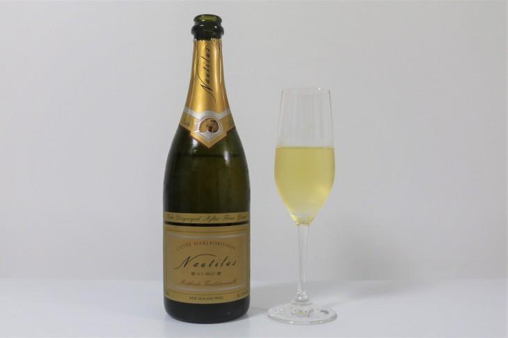 2013年度エアーニュージーランド・ワインアワード・チャンピオンワイン ノーティラス・エステート「キュヴェ・ブリュットNV」