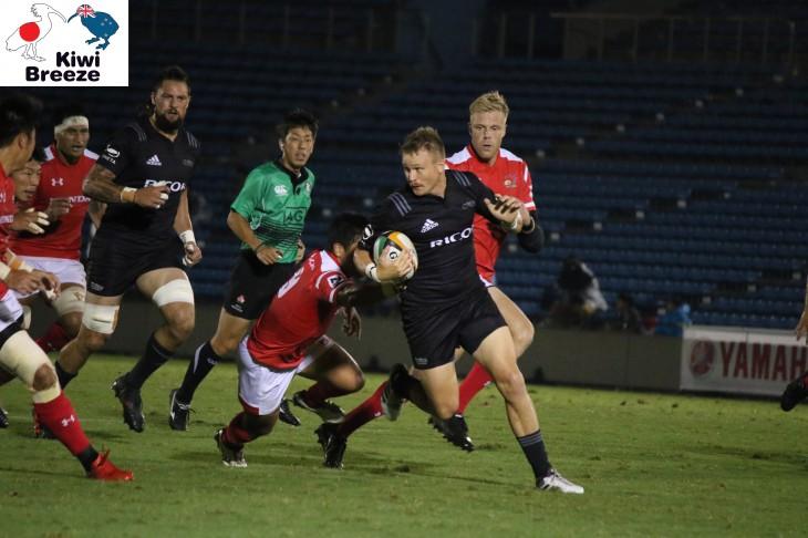 トップリーグ2018-2019 第1節 リコーブラックラムズ vs ホンダヒート