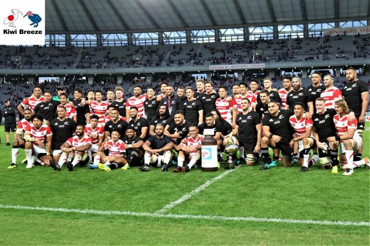 リポビタンDチャレンジカップ2018 日本代表 vs オールブラックス
