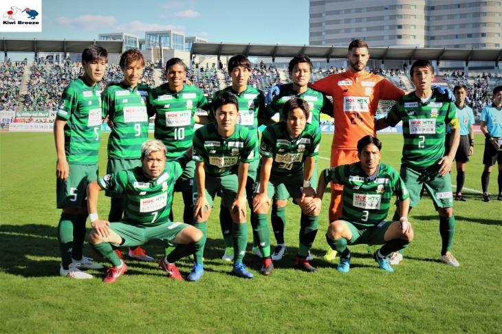 J2リーグ 2018 最終戦 FC岐阜 vs アビスパ福岡