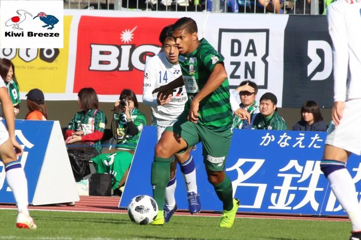 FC岐阜 ライアン・デ・フリース 2019 シーズン 契約更新