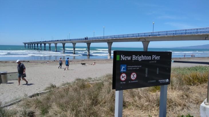 クライストチャーチにある「New Brighton」に行って来ました。