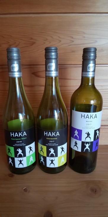 HAKAシリーズのワインをテイスティングしました。