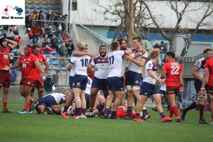 スーパーラグビー 2019 ROUND5 サンウルブズ vs レッズ レポート